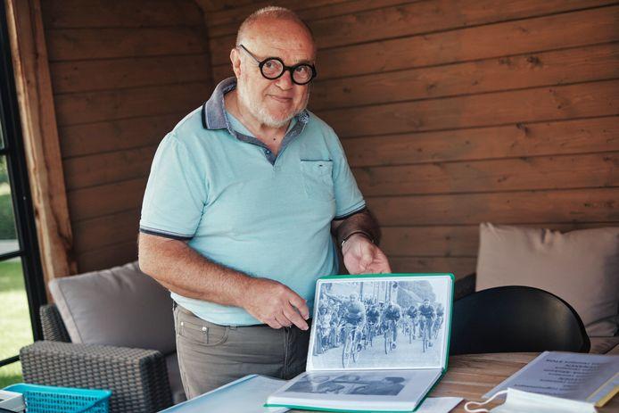 Omer Heusdens catalogiseerde 100 Kortenaakse wielrenners naar aanleiding van WK wielrennen