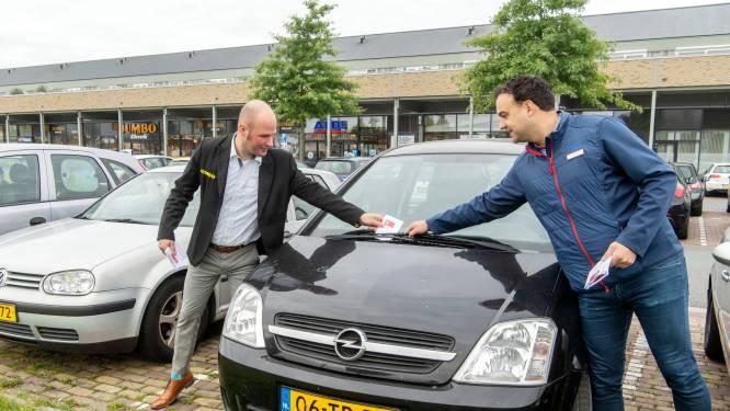 'Snel blauwe zone Dikkersplein Hengelo'