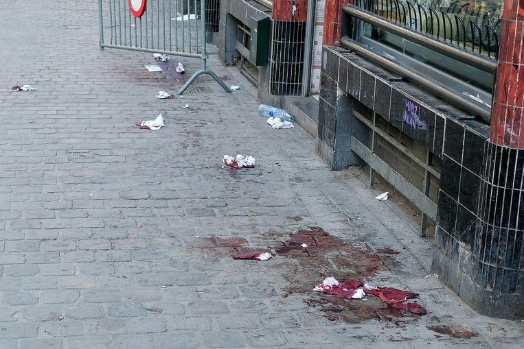 Een van de betrokkenen werd gevonden in de Steenstraat.