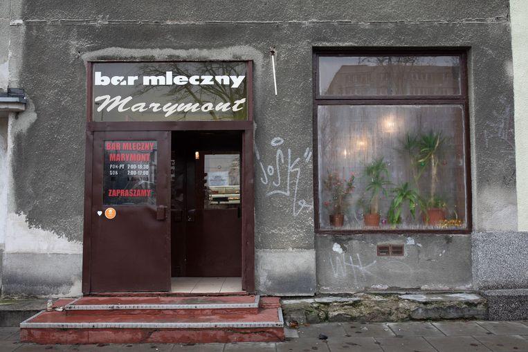 Bar Marymont is een van de tientallen melkbars die Warschau telt. Beeld Piotr Malecki