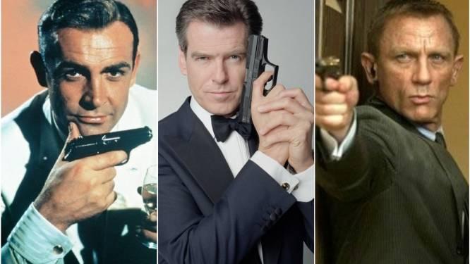 Ettelijke martini's, honderden 'moorden' en bedpartners in overvloed: 25 James Bond-films in cijfers