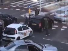 Flinke vechtpartij na aanrijding in Nijmegen vastgelegd op camera