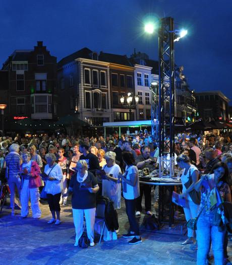 'Nijmegen Zingt' op Grote Markt