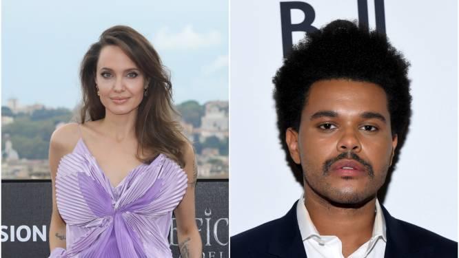 Angelina Jolie en The Weeknd opnieuw samen gespot: zijn ze dan toch een koppel?