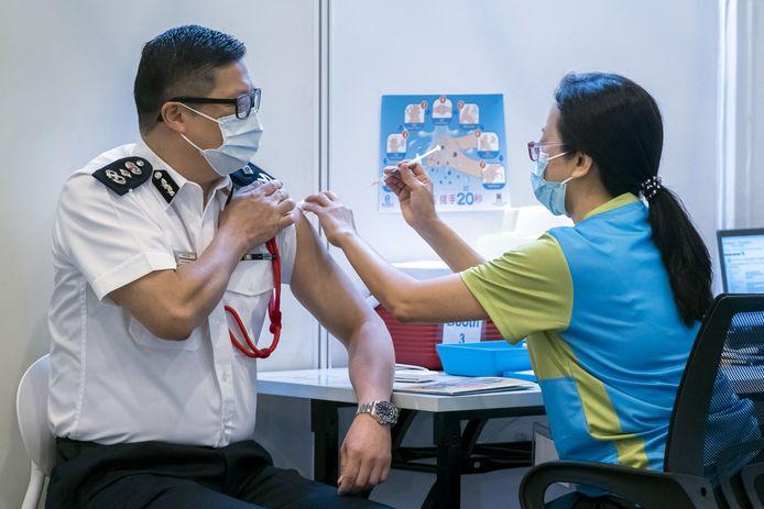 China is het tweede land dat het meeste vaccins geleverd kreeg.