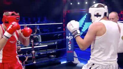 Het gaat er heftig aan toe in 'Boxing Stars': dit is de eerste minuut uit de kamp van Bill Barberis en Hans Van Alphen