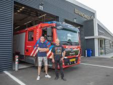 Het hoogtepunt van de brandweer in Rilland valt jammerlijk in het water