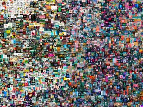 Un artiste français met en vente une œuvre numérique à un prix record