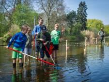 Waadpad geopend in Sint-Oedenrode: een avontuurlijk wandelpad door een vijver