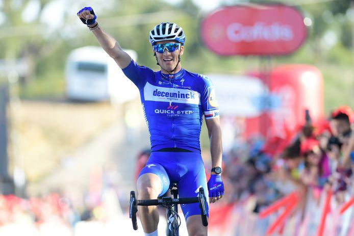 Zdenek Stybar won gisteren in de Algarve.