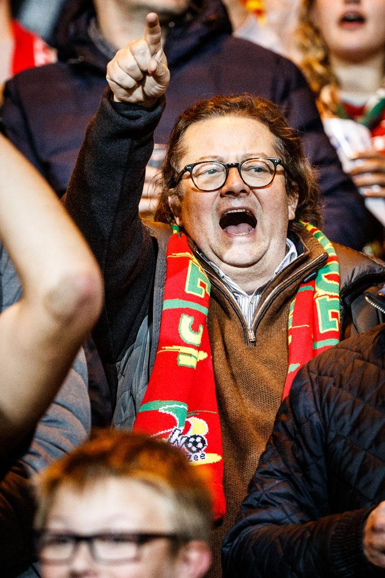 Marc Coucke, tot vorig jaar de vurigste aller KV Oostende-supporters. Sinds zijn overstap naar Anderlecht heeft hij echter veel vijanden aan de kust. Beeld BELGA