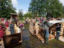 Smeekbede bouwdorp: Breng geen pallets alsjeblieft