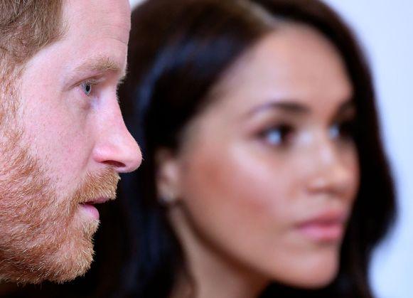 Harry en Meghan krijgen het zwaar te verduren van het koningshuis.