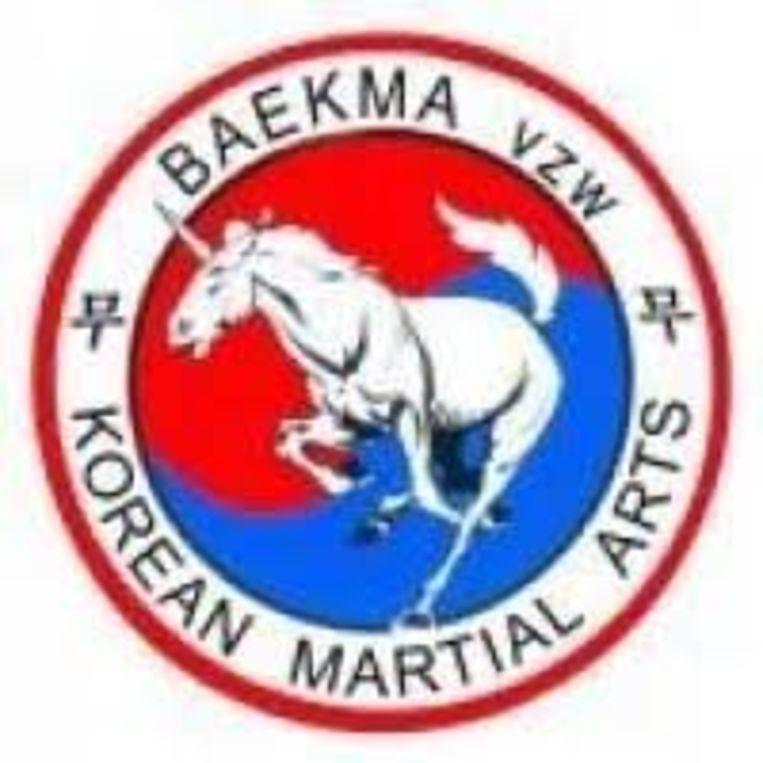 Het logo van Baekma