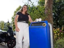 Minder zwerfvuil op straat, want iedereen wil z'n afval dumpen bij het Koekiemonster van Rose (53)