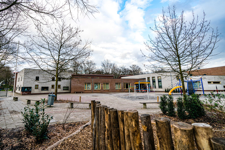 Een gesloten basisschool in het Brabantse Geldrop.