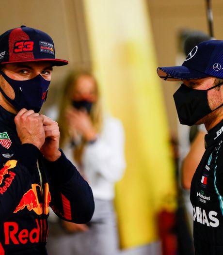 Verstappen op zijn hoede ondanks langverwachte pole: 'Mercedes gaat me flink onder druk zetten'