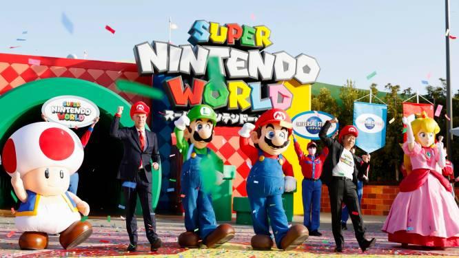 Super Nintendo World opent de deuren in Osaka, maar schreeuwen op attracties wordt afgeraden