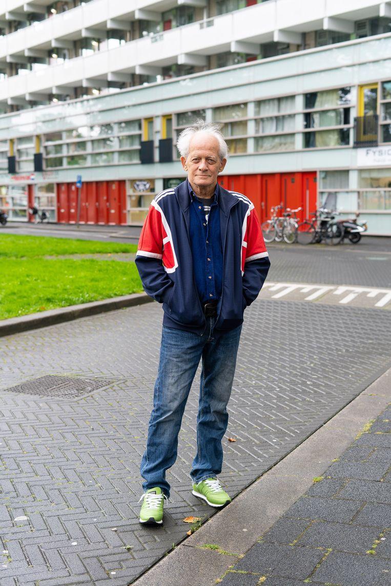 Henno Eggenkamp: 'Het is typisch voor de stad: alles wat naar armoede riekt, moet verdwijnen.' Beeld Birgit Bijl