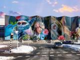 Werk aan kunstwerk blauwe wand start volgende week, rijbaan Gasstraat tijdelijk afgesloten