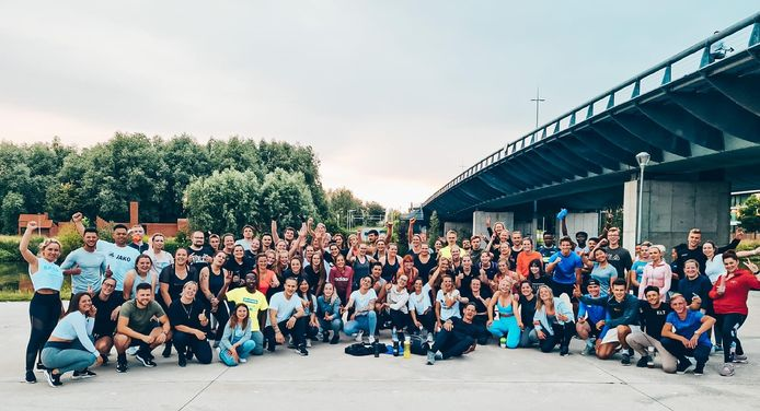 De bootcamps aan en onder de Ronde van Vlaanderenbrug, bij het Nelson Mandelapark, zijn een groot succes