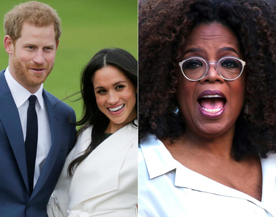 Vanavond wordt het interview van Oprah Winfrey met prins Harry en Meghan Markle op de Amerikaanse televisie uitgezonden.