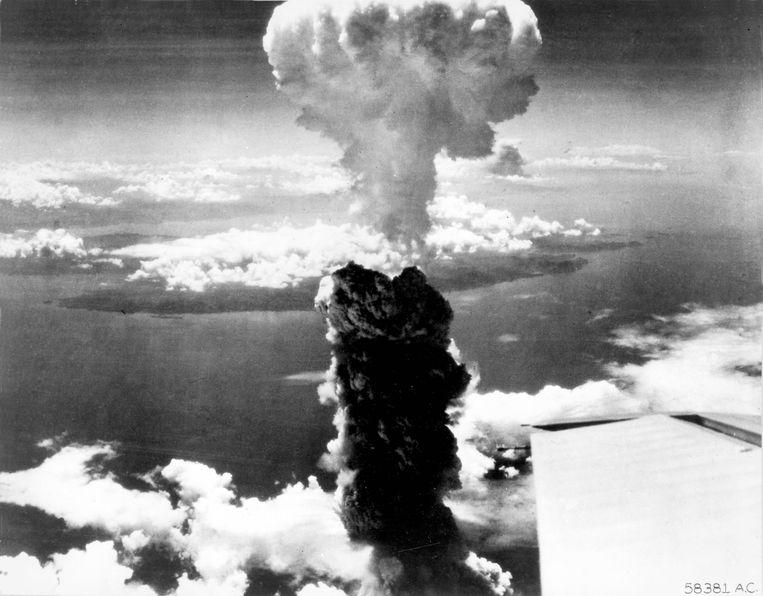 Nagasaki, 9 augustus 1945.   Beeld via REUTERS