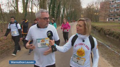 8.000 lopers zamelen bijna 100.000 euro in tijdens warmathon in Leuven