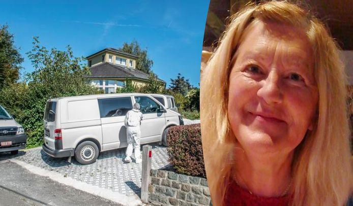 Lutgarde Maes werd op 13 oktober dood aangetroffen in de tuin van haar woning aan de Elverenberg.
