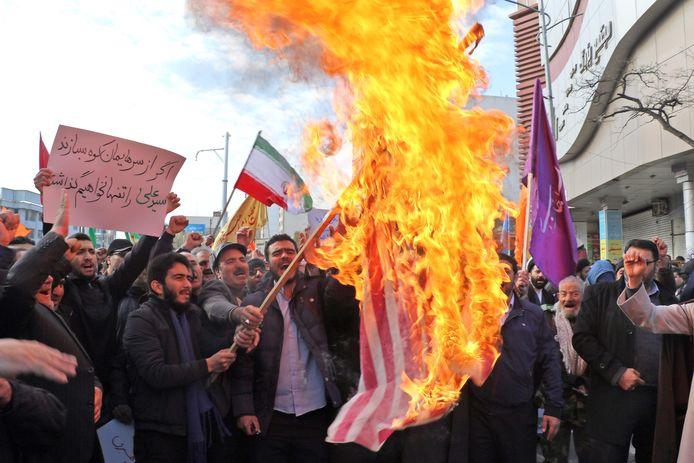 In heel Iran werd afgelopen week gedemonstreerd tegen de verhoogde brandstofprijzen. Bij die protesten zouden minstens 115 doden zijn gevallen.
