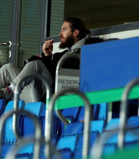 Dubbel pech voor Sergio Ramos: geblesseerde Real-captain heeft corona
