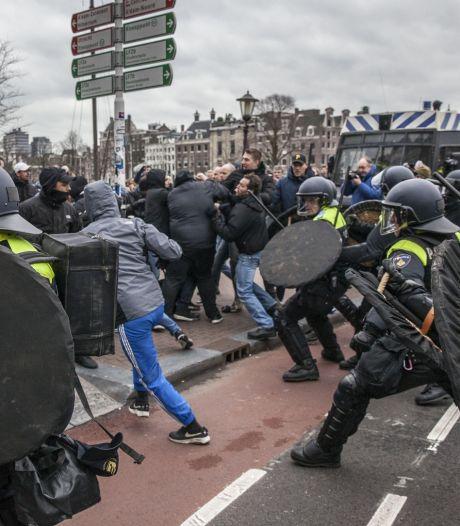 Man aangehouden voor nepbom Pegida-betoging