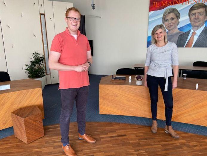 Jan Oene Krist volgt Riet Eshuis op als raadslid voor de ChristenUnie in Wierden.