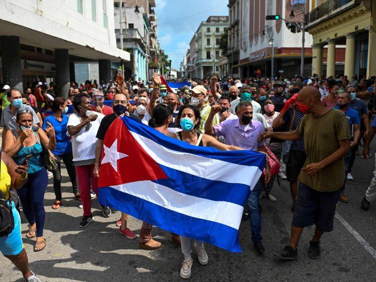 Opnieuw felle protesten in Cuba