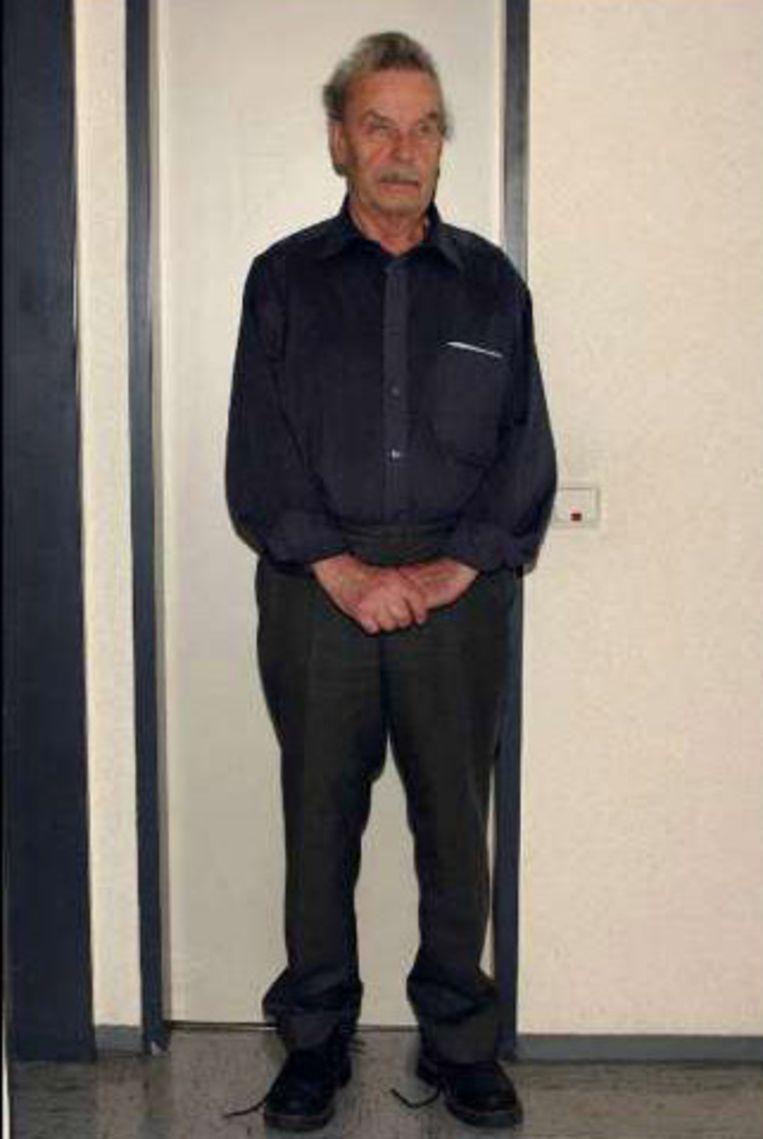 Josef Fritzl, alias het 'incestmonster'. Beeld UNKNOWN