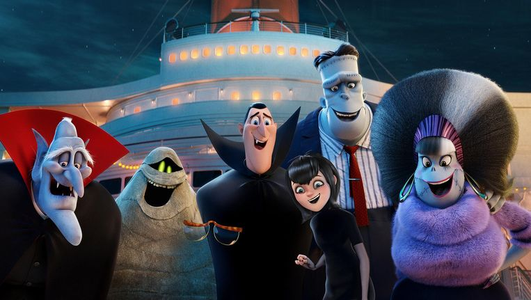 Het complete rariteitenkabinet gaat op vakantie met een cruiseschip Beeld Sony Pictures