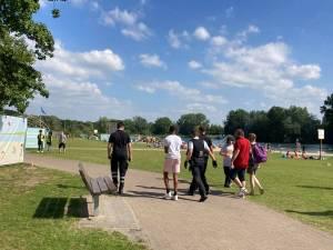 Vijftigtal jongeren probeert Blaarmeersen binnen te dringen op de eerste dag van de nieuwe maatregelen
