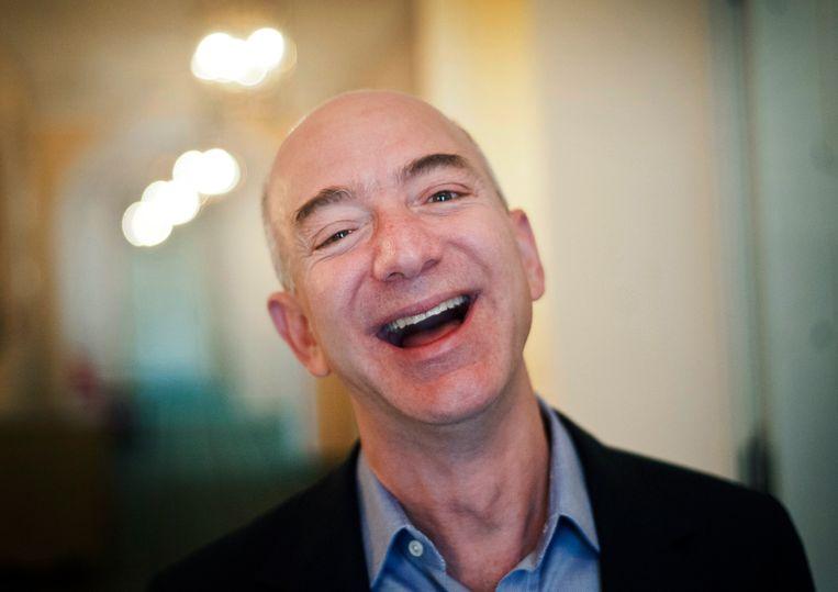Jeff Bezos. Beeld EPA