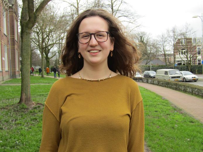 """Eva: ,,In Nederland is vrijheid van meningsuiting bijvoorbeeld doodnormaal, maar in sommige landen heeft dit de dood tot gevolg."""""""