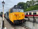 Oude treinen in het VK.