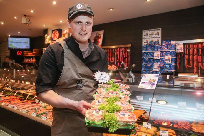 Bij Keurslagerij Abel zijn nu Buffaloburgers te koop.