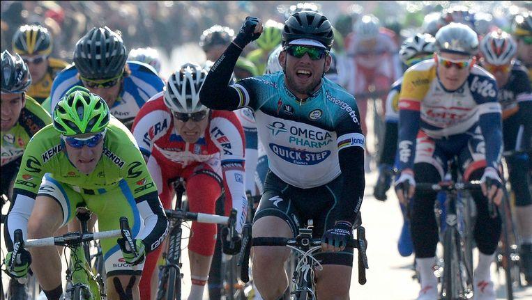 Cavendish haalde het in een massasprint. Beeld PHOTO_NEWS