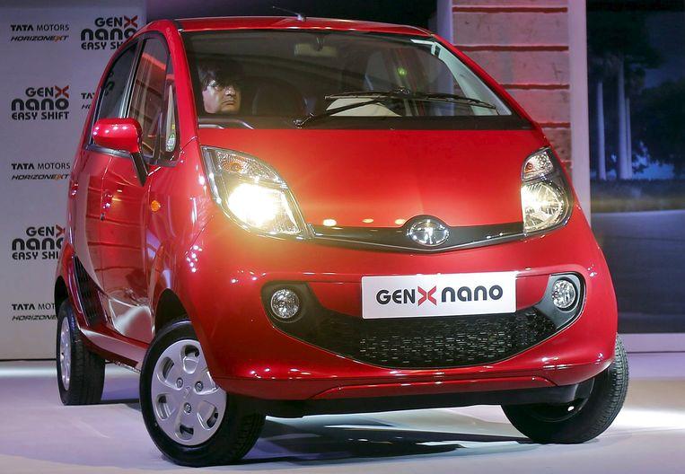 De Tata Nano Beeld REUTERS