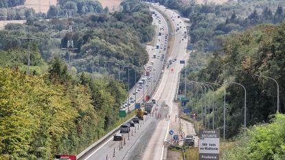 Carpoolstrook op E411 naar Brussel opgeschort