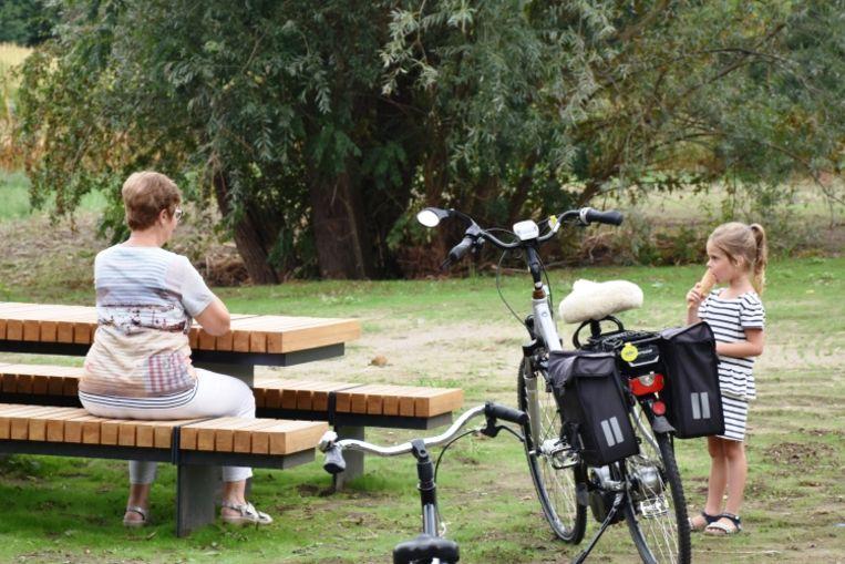 Ook Park De Uilenspiegel is 's avonds een nieuwe hangplek.