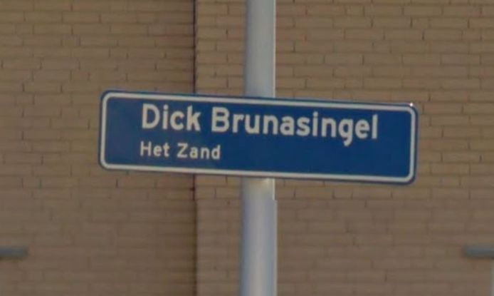 Het straatnaambordje in Leidsche Rijn.