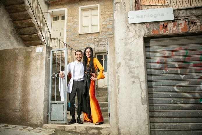 Marije Graafsma en Ovan Abdullah