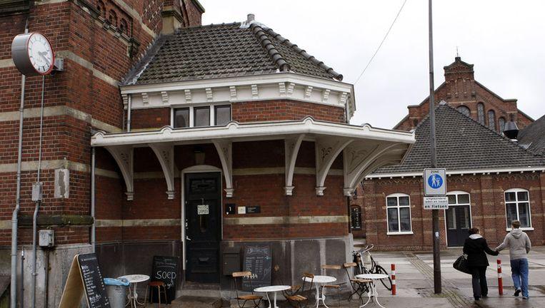 Het gaat om een duurzaam hotel. Het gebouw moet passen tussen de gerenoveerde gebouwen van de oude Westergasfabriek. Foto ANP Beeld