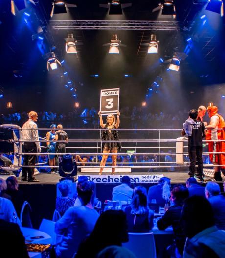 Ondernemers gaan netwerken en boksen in Bunnik: 'Een deelnemer ging tegen de vlakte, maar stond gelukkig wel weer op'