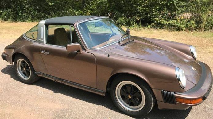 Een gestolen Porsche-oldtimer.